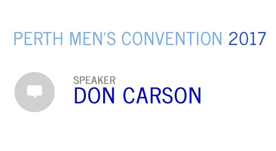 Perth Men's Convention